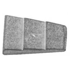 klínek č.4, 30009, 28x39mm   (20ks)