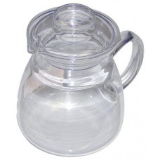 SIMAX konvice JANA 0,6l víčko skl., rukojeť skl.