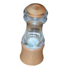 DŘEVOTVAR mlýnek na koření KLASIK 15cm akryl+dřev.přírodní