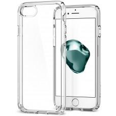 SPIGEN OCHRANNÝ KRYT (HARD+TPU) SPIGEN Ultra Hybrid 2 PRO APPLE iPHONE 7/8 - transparentní