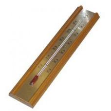 TFA teploměr pokojový 20cm dřev.+ kov.12.1016
