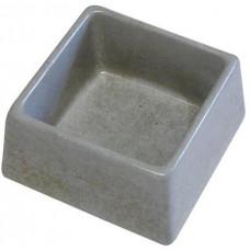 BEMI miska čtverec 155x155x75mm beton   (84)