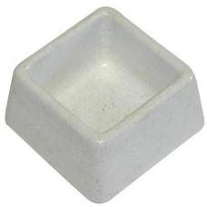 BEMI miska čtverec  90x90x50mm (malá) beton   (48)