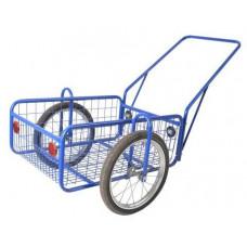 KOVODRUŽSTVO vozík PEGAS, komaxit, 450x640x280(1320)mm, nosnost 100kg