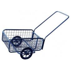 KOVODRUŽSTVO vozík POPULAR I, gumová obruč, komaxit, 418x618x232(1220)mm