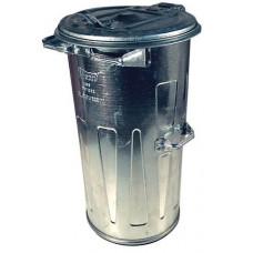 MEVA nádoba na odpadky 110l Zn kulatá