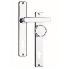 ROSTEX klika dveř.se št.+ knof. 804/90mm vložka Cr-nerez