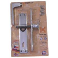KOMAS klika s knoflíkem 26103 90/klíč Al  blistr