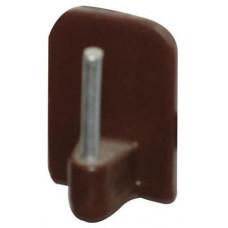 PRAKTIC háček vitráž.samolep.PH+kov.BÍ 70.01.4 (4ks)