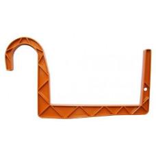 PLASTKON držák truhlíků kulatý závěs 11x12cm TE