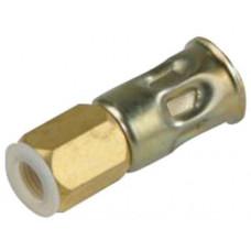 MEVA nátrubek pr.4mm s maticí M9x0,75   4317D1