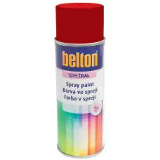 BELTON barva ve spreji BELTON RAL 3000, 400ml ČRV ohnivě lesklá