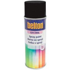 BELTON barva ve spreji BELTON RAL 9005, 400ml ČER