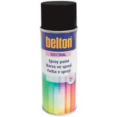 BELTON barva ve spreji BELTON RAL 9005m, 400ml ČER matná