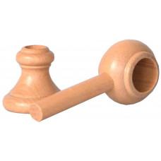 PRAKTIC držák dřev.přírodní lak.