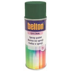 BELTON barva ve spreji BELTON RAL 6005, 400ml ZE mechová