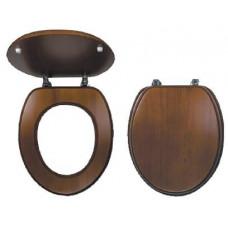 NOVASERVIS sedátko WC dřev. DUB tm.