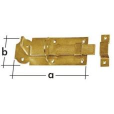 DOMAX zástrč zamykací rovná 140x55x5,0mm WZP140
