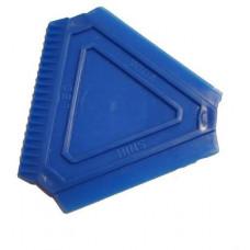 PLZEŇSKÉ DÍLO škrabka na led  trojúhelník 8x8x8cm PH mix barev