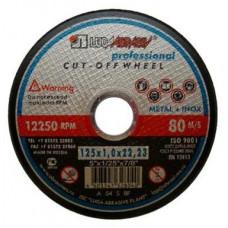 kotouč řez. na ocel a nerez 125x1,0x22,23mm