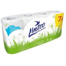 LINTEO papír toaletní LINTEO 2vrstvý BÍ (7+1ks)
