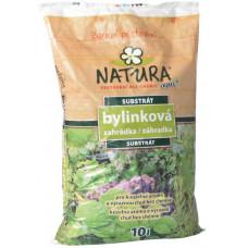 NATURA substrát bylinková zahrádka 10l