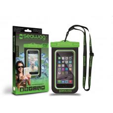 SEAWAG Voděodolné pouzdro pro telefon Černá/Zelená