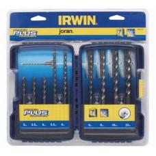IRWIN vrták stav. sada SPEEDHAMMER PLUS 5,0-12,0mm 9díl.