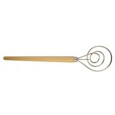 SONIX hnětač na těsto pr.8,5cm nerez, rukojeť dřev.