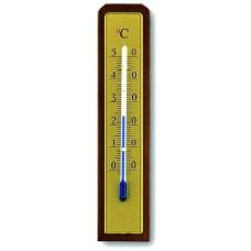 TFA teploměr pokojový 13cm dřev.+ kov.12.1009