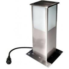 svítidlo sloupek čtverc., výška 30cm, 40W, IP44, včetně zdroje E27,k přišroubování