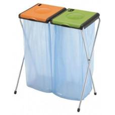 GIMI stojan na tříděný odpad NATURE 2 přenosný