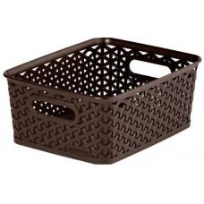 CURVER box úložný RATTAN 25x20x10cm (S),