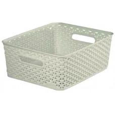 CURVER box úložný RATTAN 35x30x13cm (M),