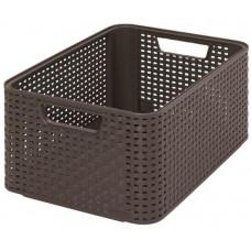 CURVER box úložný RATTAN 39x29x17cm (M), STYLE2, PH HN