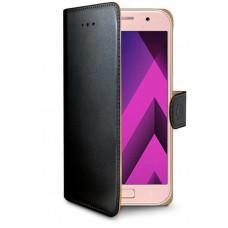 CELLY Pouzdro typu kniha Wallet  Galaxy A3 (2017), černé