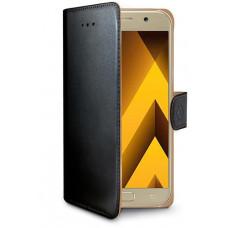 CELLY Pouzdro typu kniha Wallet  Galaxy A5 (2017), černé