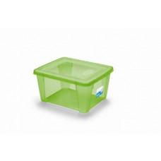 STEFANPLAST box úložný SCATOLA  2l, 19x16x10cm s víkem PH ZE