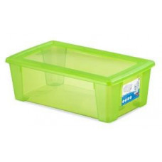 STEFANPLAST box úložný SCATOLA  5l, 32,5x19x11cm s víkem PH ZE
