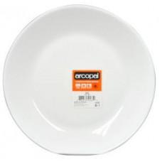 ARCOROC talíř dezertní skleněný ZELIE 19,5cm BÍ