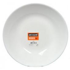 ARCOROC talíř hluboký skleněný ZELIE 22,5cm BÍ