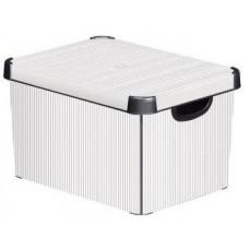 CURVER box úložný CLASSICO 40x30x23cm (L) s víkem, PH