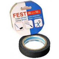 FEST TAPE páska textilní 20mmx10m SPORT ČER
