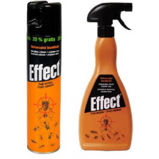 EFFECT sprej un.na létající i lezoucí hmyz, insekticid EFFECT, 400ml aerosol