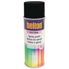 BELTON barva ve spreji BELTON RAL 9005pl, 400ml ČER pololesklá