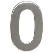RICHTER číslo domovní č.0  95mm nerez