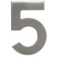 RICHTER číslo domovní č.5  95mm nerez