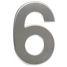 RICHTER číslo domovní č.6  95mm nerez