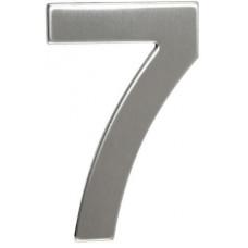 RICHTER číslo domovní č.7  95mm nerez