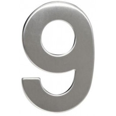 RICHTER číslo domovní č.9  95mm nerez